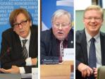 Ex-Premier G. Verhofstadt, Ex-Präsident V. Landsbergis und Ex-Kommissar St. Füle: Reisen nach Russland müssen tabu sein ...
