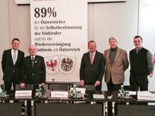 """Ergebnisse einer Umfrage des """"Südtiroler Heimatbundes"""""""