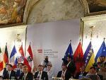 Außenministerkonferenz im Rahmen der Westbalkankonferenz Wien 2015.
