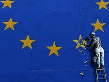 """Der """"Brexit"""" in der Darstellung des britischen Streetart-Künstlers Banksy"""