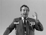 Alois Mock beim CDU-Bundesparteitag 1983