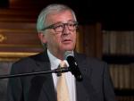 Jean-Claude Juncker, Präsident der EK, bei der Konferenz 'L'avenir de l'Europe'