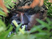 Scharfschützen-Training der Nordic Battlegroup im irischen Kilworth