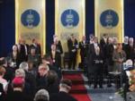 Verleihung des Karlspreises im Rathaus zu Aachen