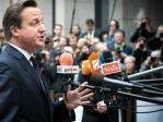 David Cameron schlug mit der Faust auf den Tisch