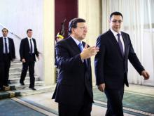 Treffen Barroso - Ponta in Bukarest