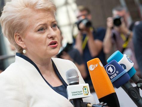 Litauens Präsidentin Dalia Grybauskaitė; Bild: Der Rat der EU