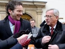 Wechsel an der Spitze der Eurogruppe von Jean-Claude Juncker zu Jeroen Dijsselbloem