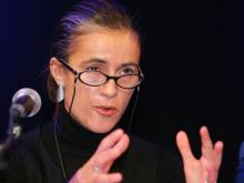 """Schauspielerin Mercedes Echerer, Co-Initiatorin von """"Kunst hat Recht"""""""