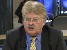 MEP Elmar Brok EVP im Interview mit EU-Infothek in Brüssel