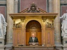 """Eröffnung der Forschungsplattform """"europäische Integrationsforschung"""" der Universität Wien"""