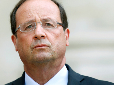 Frankreichs Präsident Francois Hollande; Bild: EPA/YOAN VALAT (c) dpa - Bildfunk