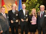 Landeshauptmann Hans Niessl, Prof. Johannes Koprivnikar, Claus Reitan, Zorica Vojnovic , IRE-Vorstand Dr. Franz Schausberger