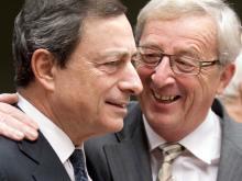 Kommissionspräsident Jean-Claude Juncker und EZB-Chef Mario Draghi