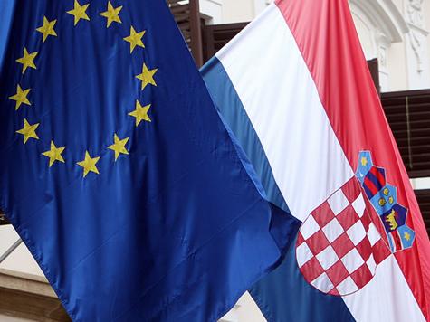 Kroatien noch auf der Suche nach seiner Rolle in der EU; Bild: EPA/ANTONIO BAT