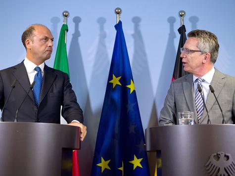 | Maizière kündigt Konzept der EU-Innenminister zu Bootsflüchtlingen an