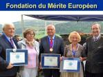 """Franz Schausberger mit dem Orden """"Mérite Européen in Gold"""" ausgezeichnet"""