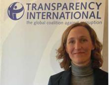 Jana Mittermaier, Leiterin des EU-Büros von Transparency International