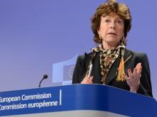 EU-Kommissarin Neelie Kroes wollte einheitliche Regeln zur Netzneutralität schaffen