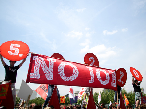 Ein Plan mit Mut: Die Arbeitslosenversicherung für die Eurozone; Bild: Kay Nietfeld/dpa (c) dpa - Bildfunk