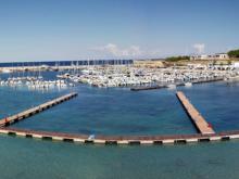 Der Hafen von Otranto