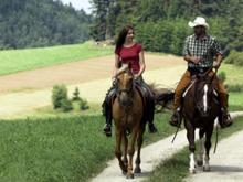 Relaxplätze für Ross und Reiter – Leader kurbelt Reittourismus im Mühlviertel an