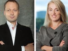 Evelyn Regner (SPÖ) und Holger Krahmer (FDP)