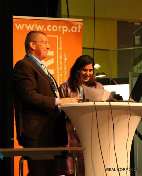 DI Manfred Schrenk und Shipra Narang Suri, ISOCARP Vice-President aus Indien