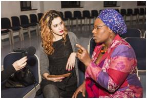 """""""Vielfalt statt Einfalt"""" – Interview mit Beatrice Achaleke, Unternehmensberaterin in Wien Foto Frauenstiftung Steyr©"""