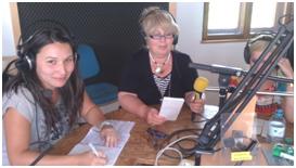 mehrsprachige Frauen machen mehrsprachiges Radio!  Foto: Frauenstiftung Steyr©