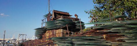 Costas Varotsos hat das Denkmal errichtet