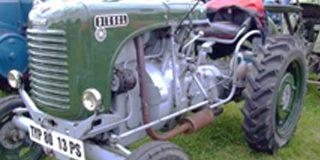 Österreichs Entwicklungshilfe soll künftig Traktoren mit robuster 50er-Jahre-Technik produzieren. Hier der Steyr 80 mit 13, später 15 PS (1949-1964). Quelle: Wikipedia-Gemeinfrei-Chr. Späth