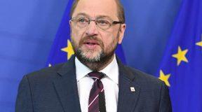 Martin Schulz und Donald Tusk: Die Ablösekanditaten. © European Union, 2016, Source: EC - Audiovisual Service, Photo: Etienne Ansotte