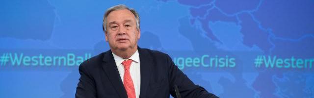António Guterres. ©  European Union, 2015