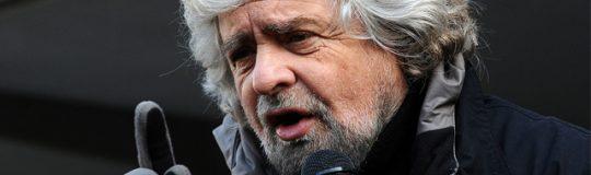Beppe Grillo scheint ein Hoffnungsträger zu sein.© Niccolò Caranti