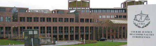 Der Europäische Gerichtshof in Luxembourg. © Cédric Puisney from Brussels, Belgium via Wikimedia Commons
