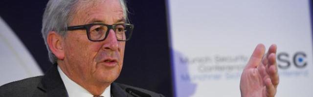 Jean-Claude Juncker, bereits seit 1982 politisch tätig und seit 22 Jahren als Politiker in der ersten Reihe engagiert, spürt offensichtlich die schwere Bürde, die er zu tragen hat. © European Union